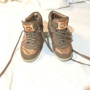 Michel kor 6.5 size sneakers